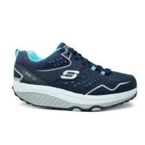 Sneaker Donna Skechers in Tessuto Blu - 57002NVLB