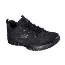 Sneaker Donna Skechers in Tessuto Nera - 12615BBK