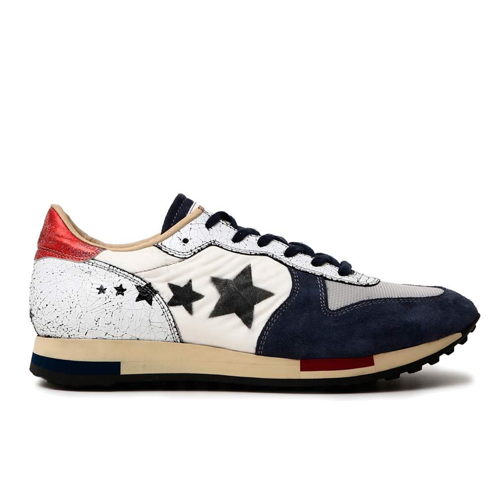 Sneaker Uomo Cafè Noir in Tessuto Multicolore - KPB924548