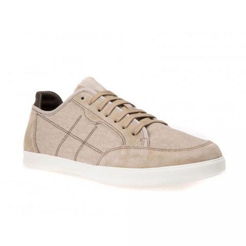 Sneaker Uomo Geox in Camoscio Beige - U722CA 0NB22 C5004
