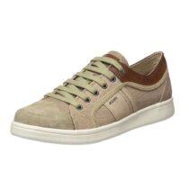 Sneaker Uomo Geox in Camoscio Beige - U820LB 0NB22 C5015