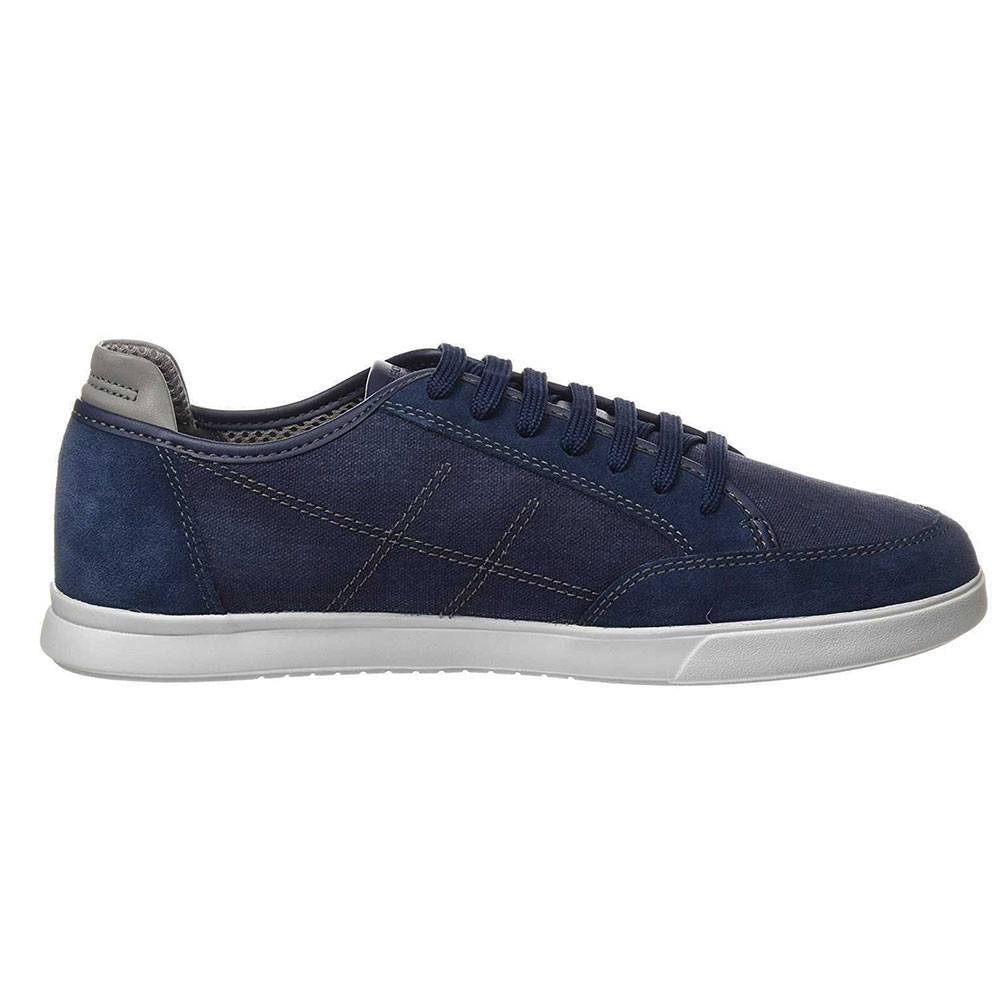 Sneaker Uomo Geox in Camoscio Blu