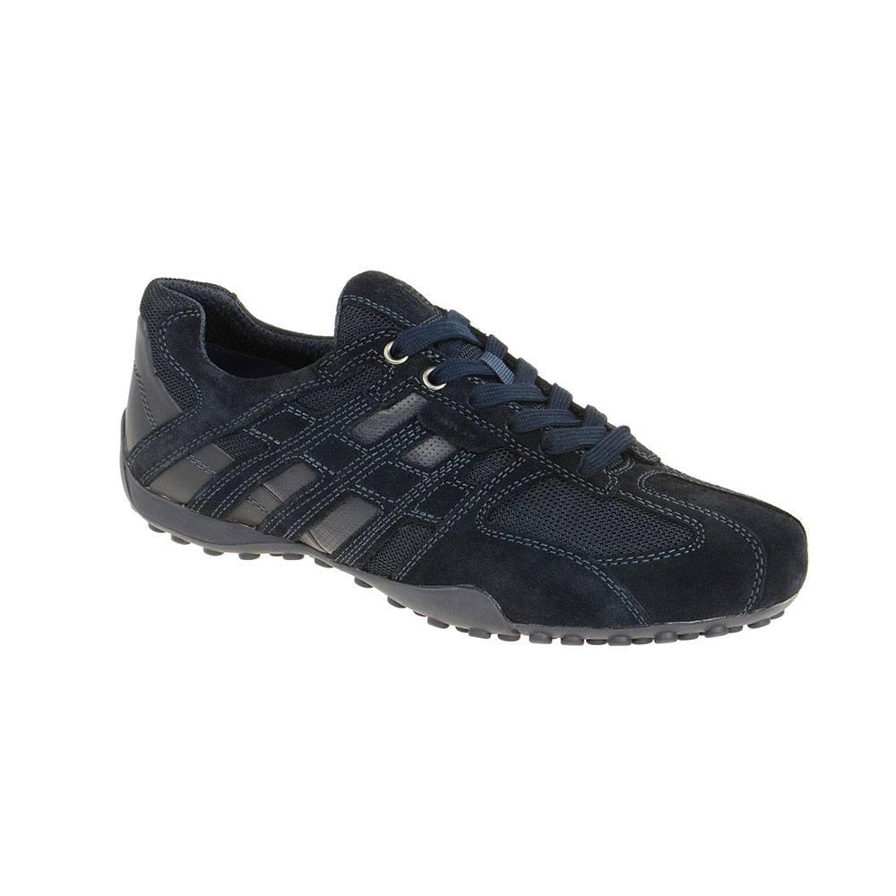 Sneaker Uomo Geox in Camoscio Blu - U8207E 02214 C4002
