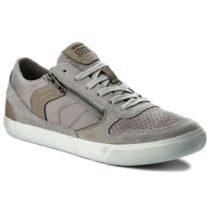 Sneaker Uomo Geox in Camoscio Grigia - U82R3C 022FU C1415
