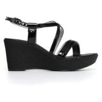 Sandalo Donna Nero Giardini con Zeppa Nero - P805662D100