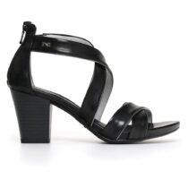 Sandalo Donna Nero Giardini in Pelle Nero - P805650D100