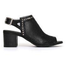 Sandalo Donna Nero Giardini in Pelle con Fibbia Nero - P805721D100