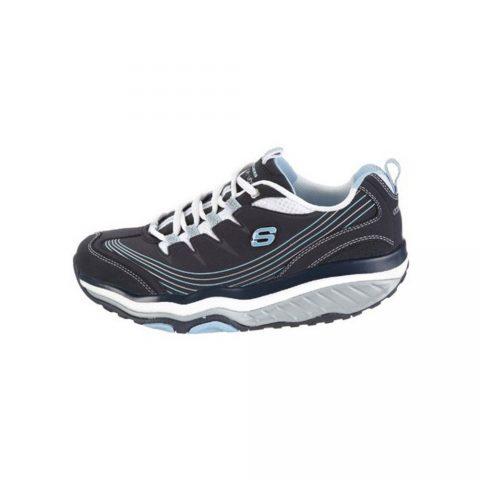 Sneaker Donna Skechers in Tessuto Blu - 12482NVW
