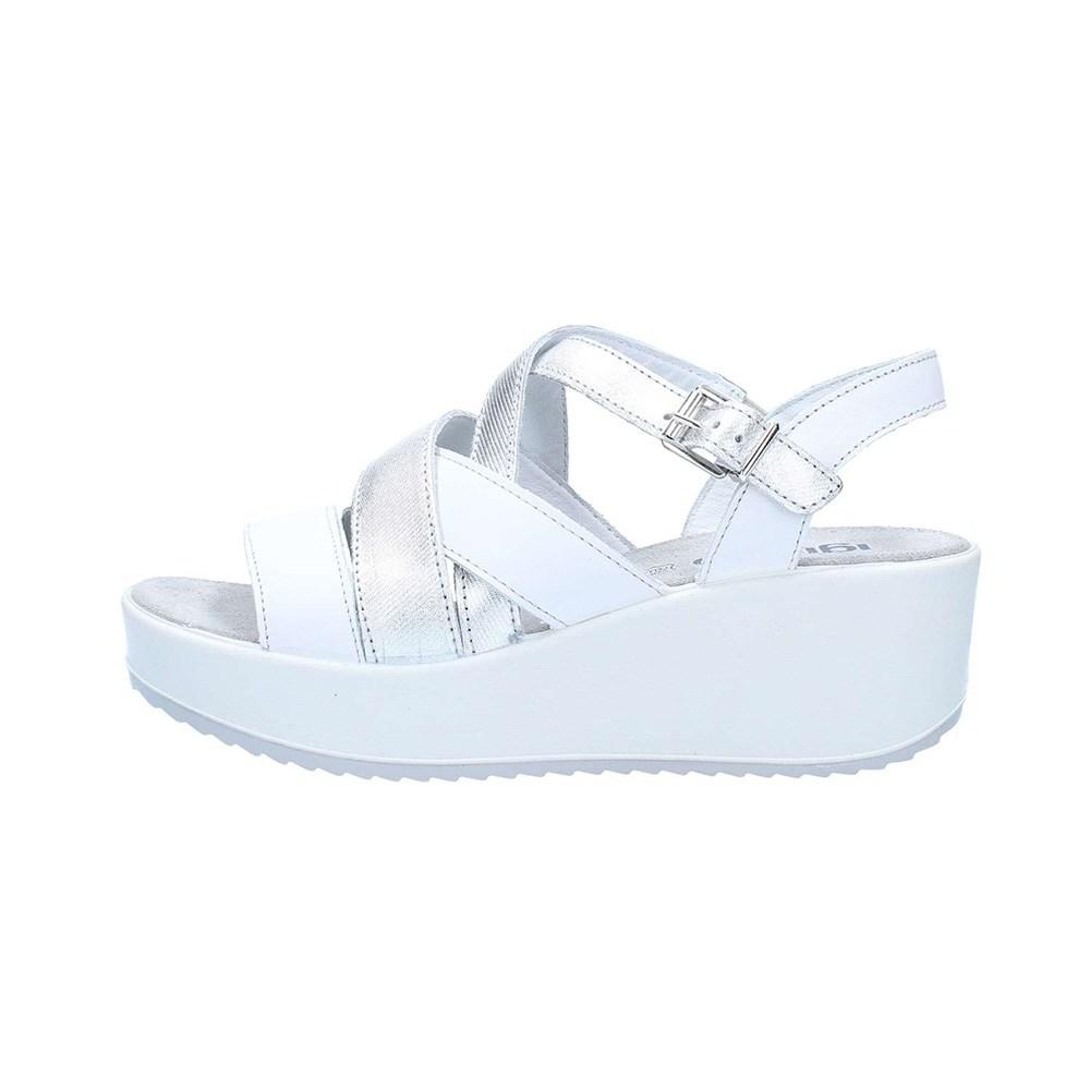 Sandalo Donna Igi&Co in Pelle Bianco - 1176522