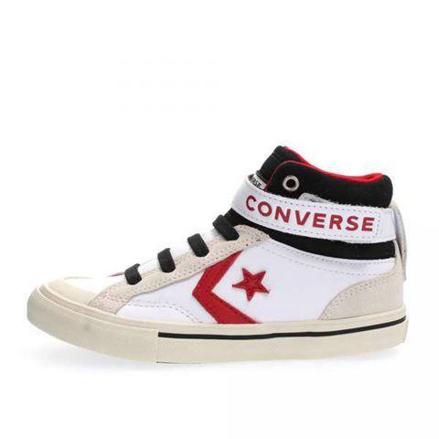 Sneaker Alta Pro Blaze Strap Hi Ragazzo Bianca Converse Junior - 662756C