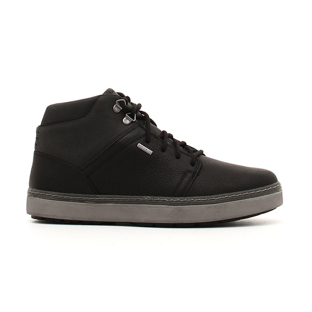 Dettagli su Sneaker Alta Uomo Geox in Pelle Nera - U84T1A046EKC9999 09182492cd6