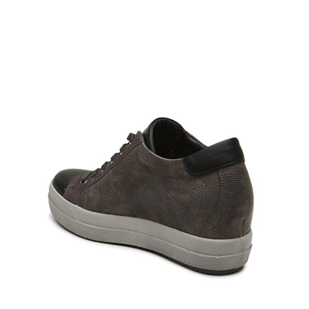 ... Sneaker-Donna-IgiCo-in-Pelle-con-Zeppa-Antracite- 9cc8b0b9724