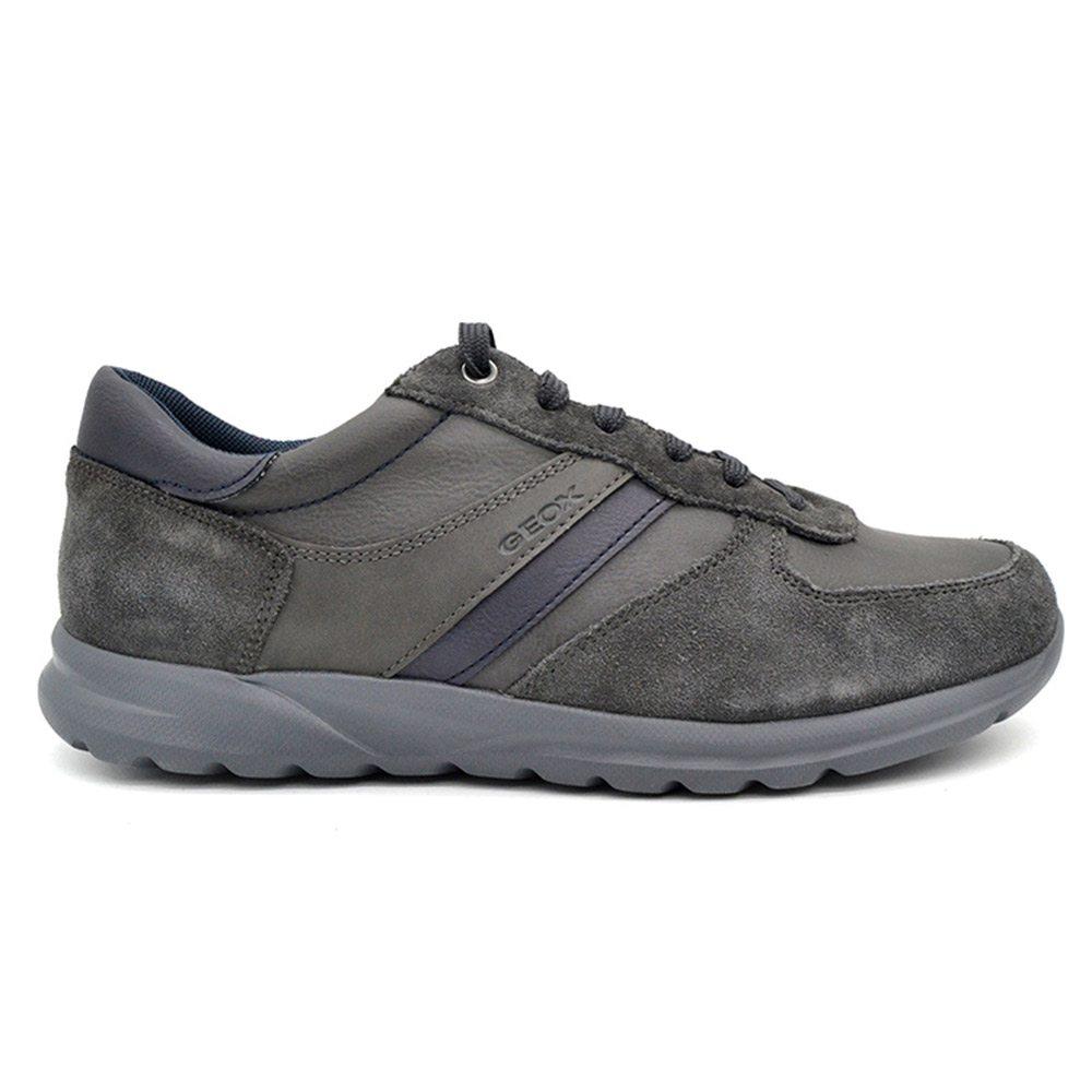 Sneaker Geox Uomo Bassa Grigia