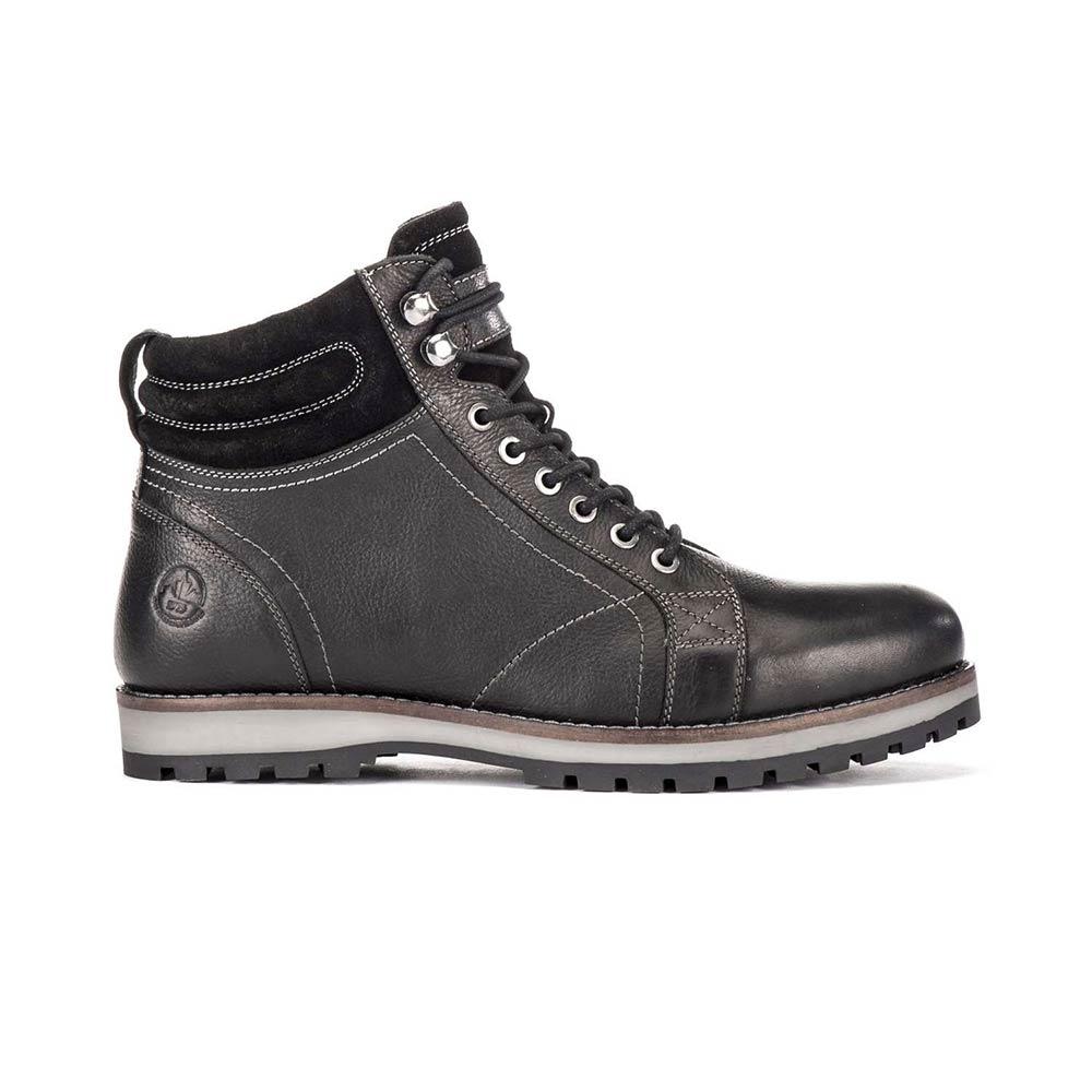 scarpe da ginnastica a buon mercato 3c99d c8e66 Scarponcino Uomo Lumberjack Roman Nero in Pelle