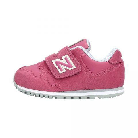 Sneaker Bambina New Balance Kids in Tessuto Rosa - NBKV373PFI