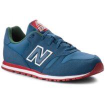 Sneaker Bambino Bassa New Balance Kids in Tessuto Blu - NBKJ373PDY