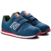 Sneaker Bambino New Balance Kids in Tessuto Blu - NBKV373PDY