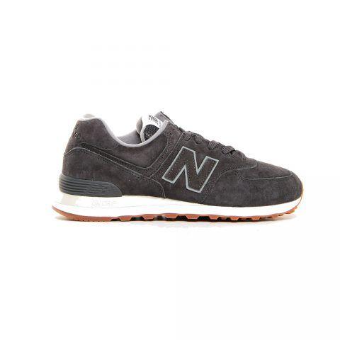 Sneaker Bassa Uomo New Balance in Camoscio Grigio - NBML574EPC