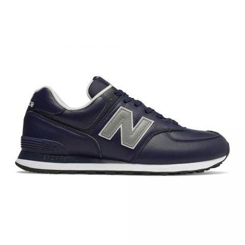 Sneaker Bassa Uomo New Balance in Pelle Blu - NBML574LPN