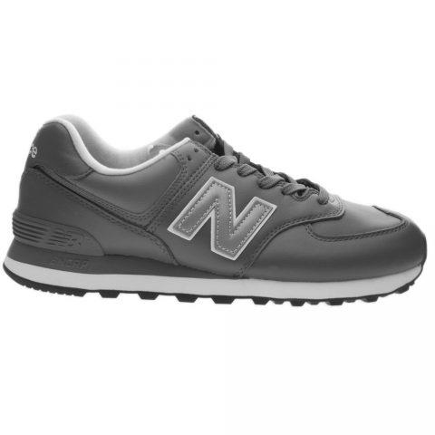 Sneaker Bassa Uomo New Balance in Pelle Grigia - NBML574LPC