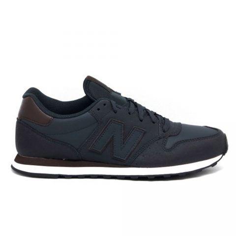 Sneaker Bassa Uomo New Balance in Tessuto Sintetico Blu - NBGM500NVB