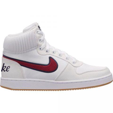 Sneaker Donna Nike Ebernon Mid Premium Bianche - AQ1769100