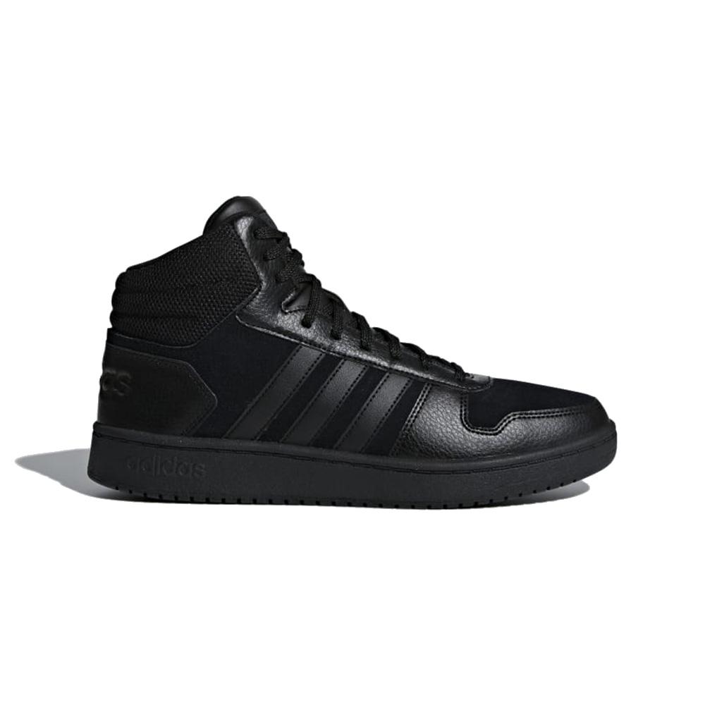 Sneaker Uomo Adidas Hoops 2.0 Mid Nera