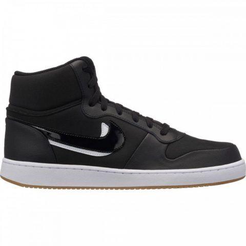 Sneaker Uomo Nike Ebernon Mid Premium Nera - AQ1771002