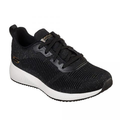 Sneaker Donna Running Skechers Nera - 32502BKMT