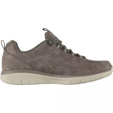 Sneaker Donna Skechers in Tessuto Grigia - 12934DKTP