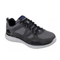 Sneaker Uomo Running Skechers in Tessuto Grigia - 52905CCBK