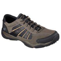 Sneaker Uomo Skechers in Tessuto Oliva - 65163OLV