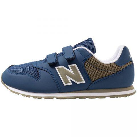 Sneaker Bambino New Balance Kids in Tessuto Blu - YV500NV