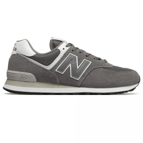 Sneaker Bassa Uomo New Balance in Pelle Grigia - ML574ESN