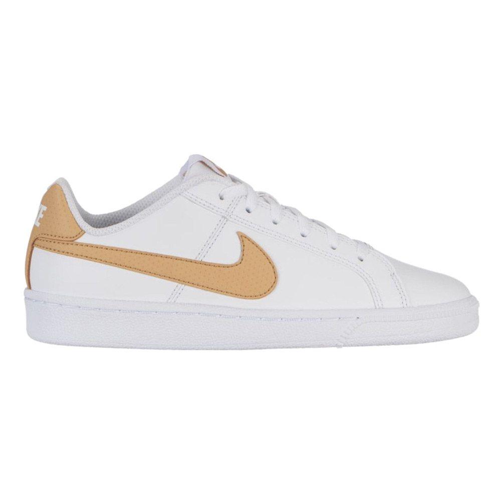 new styles 24bfb cdb5f Sneaker Ragazzo Nike Court Royale Bianca e Gold