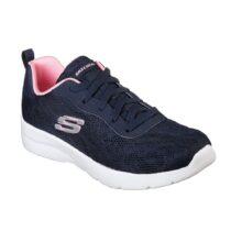 Sneaker Donna Running Skechers in Tessuto Blu - 12963NVPK