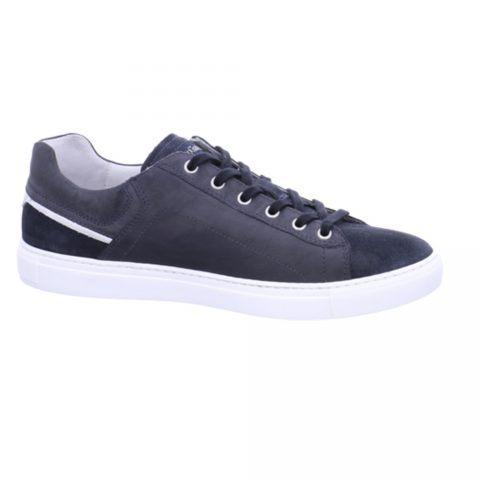 Sneaker Uomo Nero Giardini in Camoscio Blu - P900850U207