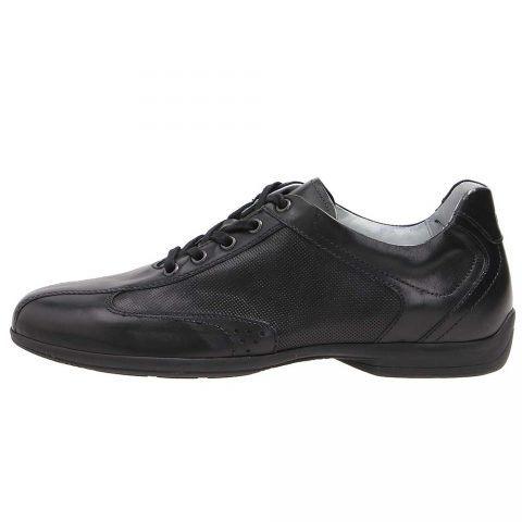 Sneaker Uomo Nero Giardini in Pelle Nera - P900780U100