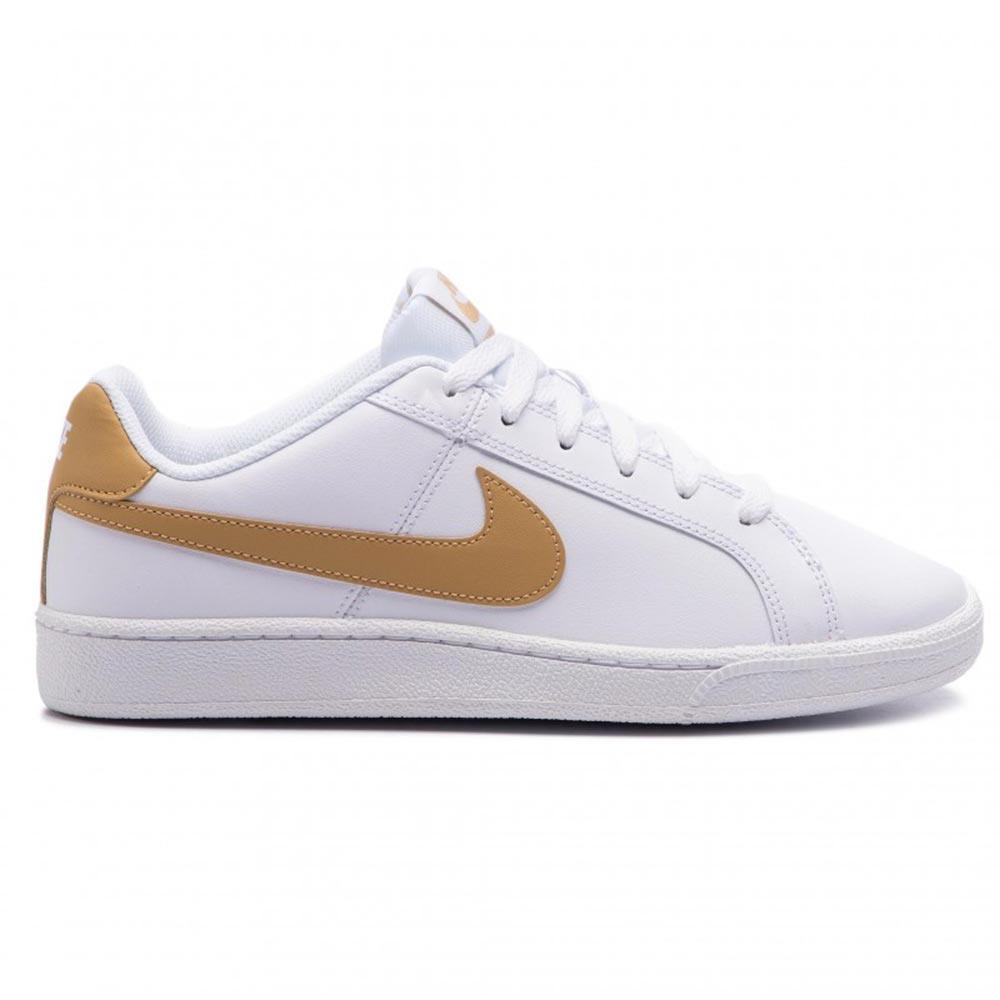 Sneaker Uomo Nike Court Royale Bianca e Gold