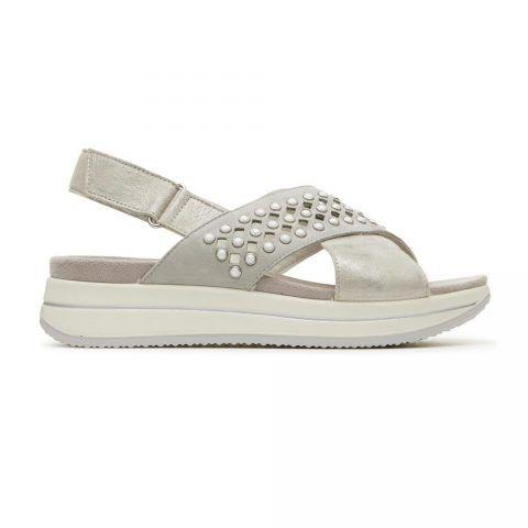 Sandalo Donna Igi&Co in Camoscio Grigio - 3169811