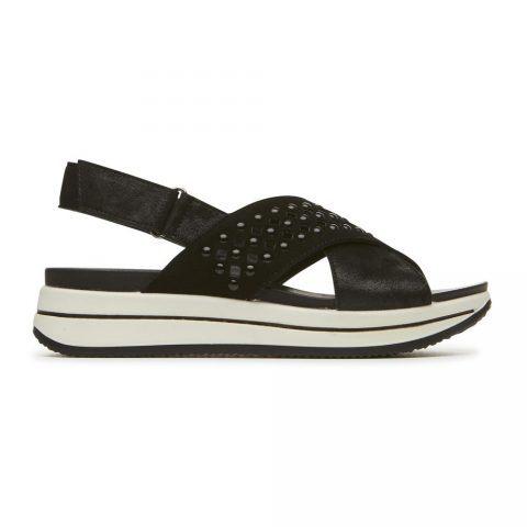 Sandalo Donna Igi&Co in Camoscio Nero - 3169800