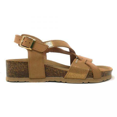 Sandalo Donna Igi&Co in Pelle Cognac - 3198577