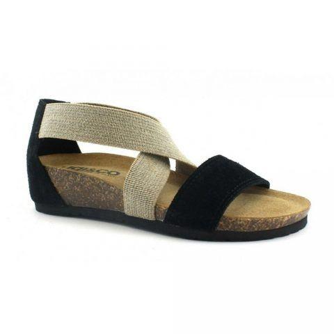 Sandalo Donna Igi&Co in Pelle Nero - 3198400