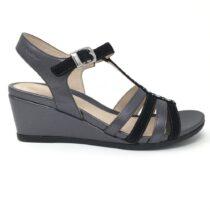 Sandalo Donna Stonefly Sweet in Pelle Nero - 210850 000