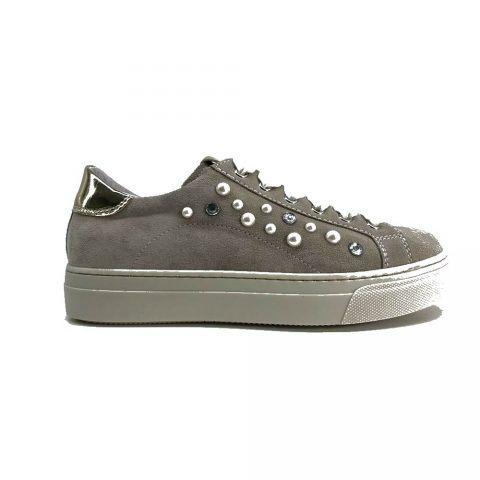 Sneaker Bambina Nero Giardini Junior Grigia - P930920F707