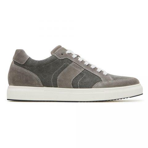 Sneaker Bassa Uomo Igi&Co in Camoscio Grigia - 3132933