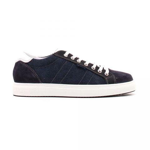 Sneaker Bassa Uomo Igi&Co in Camoscio Jeans - 3132811