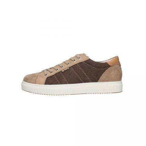 Sneaker Bassa Uomo Igi&Co in Camoscio Tortora - 3132833