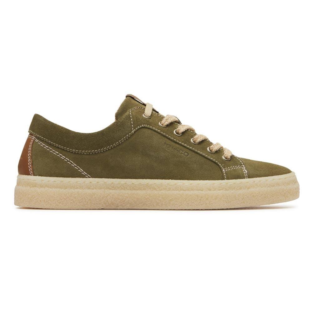 Sneaker Bassa Uomo Igi&Co in Camoscio Verde