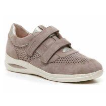 Sneaker Donna Stonefly Aurora Velour Taupe Marrone - 211268 075